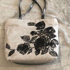 Kate Spade New York Grey wool bag
